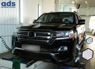 Встановлення кутів розвал-сходження 3D Toyota Land Cruiser 200 - 500 ГРН;