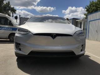 Развал схождение Tesla в Авто Дом сервис.