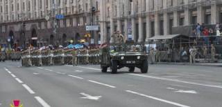 Перечень перекрытых улиц в Киеве 23-24 августа