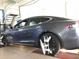 Развал-схождение Tesla в ADS